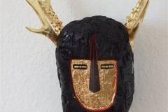 Aktaeon Driftwood, iron, blattgold, raadyrgevir, colour 15000