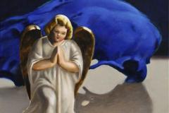 Little Angel Oljemaleri 40x40 cm 5000 ur
