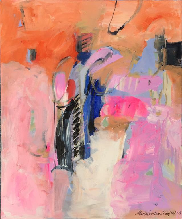 Energi 19 Akrylmaleri (60x50 cm) kr 6300 ur