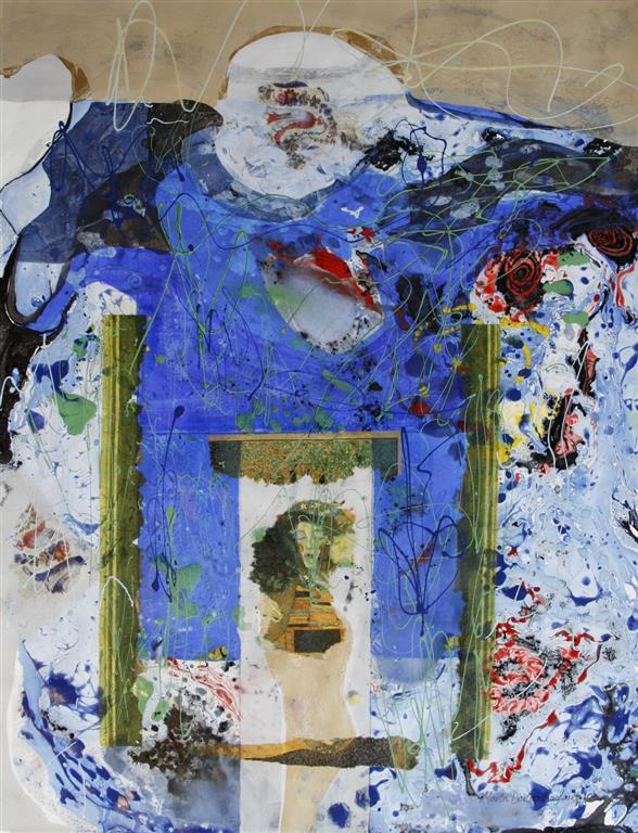 Glimt av Klimt Collage (65x50 cm) kr 7200 ur