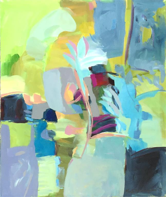 Vekst 19 Akrylmaleri (60x50 cm) kr 5800 ur