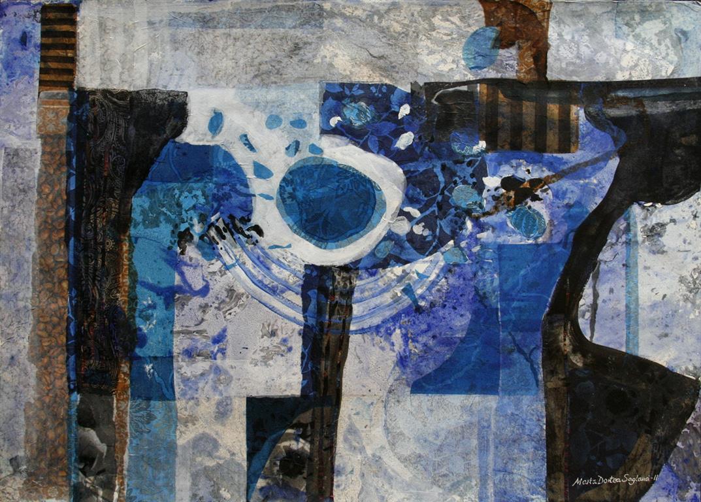 Vekst Collage (50x70 cm) kr 7000 ur