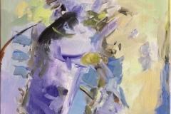Abstraksjon 19 Akrylmaleri (60x50 cm) kr 6100 ur