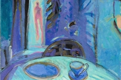 Alene Akrylmaleri (60x50 cm) kr 6100 ur