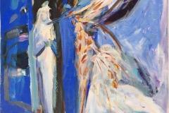 Bruden 19 Akrylmaleri (60x50 cm) kr 6100 ur
