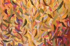 En tur på stien 19 Akrylmaleri (60x50 cm) kr 6400 ur