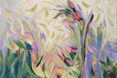 Frodig 19 Akrylmaleri (60x50 cm) 6100 ur