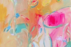 Glød 19 Akrylmaleri (60x50 cm) kr 6200 ur