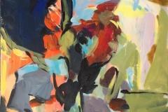 Glød 19 Akrylmaleri (60x50 cm) kr 6300 ur
