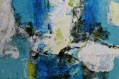 Klangfarger Akrylmaleri (41x41 cm) kr 5000 ur