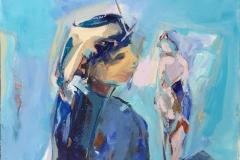 Lysning 17 Akrylmaleri (60x50 cm) kr 6100 ur