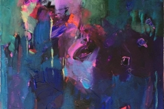 Mystikk 19 Akrylmaleri (60x50 cm) kr 6000 ur