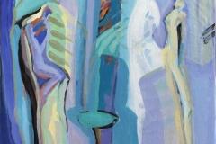 Nærast er du når du er borte Akrylmaleri (60x50 cm) kr 6500 ur