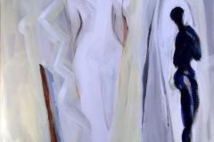 Ode til kvinnen Akrylmaleri (60x50 cm) kr 6500 ur