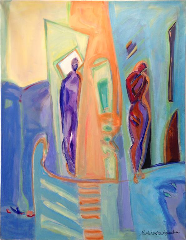 Tilnerming Akrylmaleri 80x60 cm kr 9500 ur