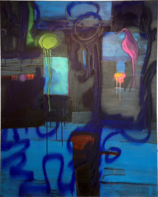World Watch Akrylmaleri 100x80 cm kr 14000 ur