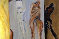 Du og eg Akrylmaleri 60x50 cm kr 6000 ur