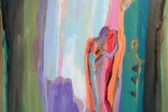 Kjenn varmen Akrylmaleri 60x50 cm kr 6500 ur