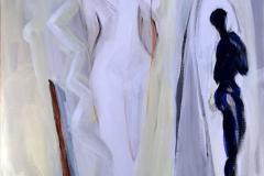 Ode til kvinnen Akrylmaleri 60x50 cm kr 6500 ur