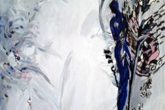 Vekst Akrylmaleri 60x50 cm kr 7000 ur