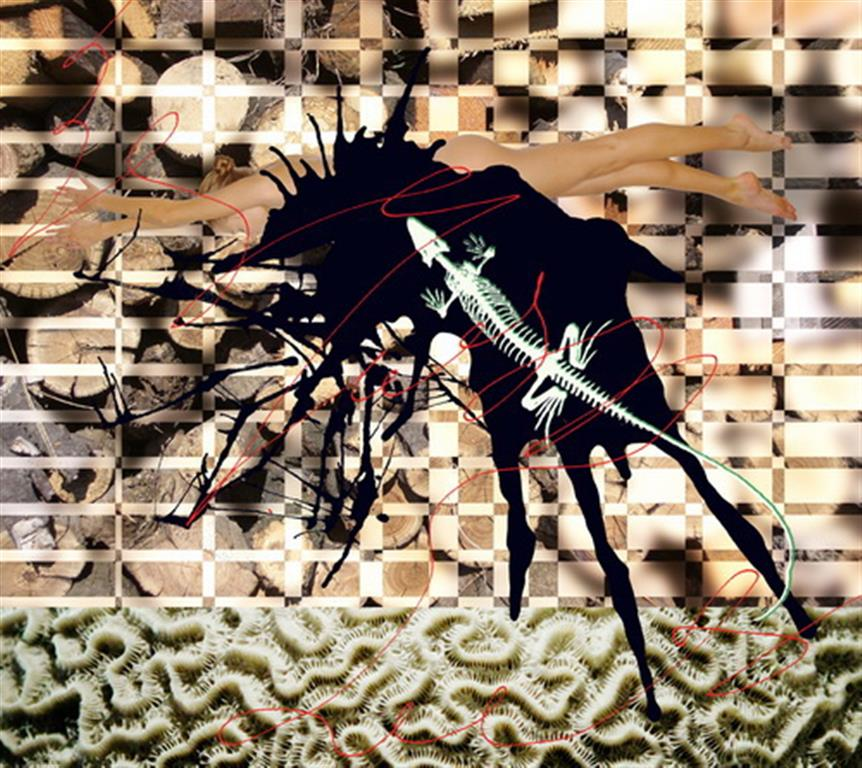 Fractal Dreaming IV Digigrafikk (26,5x30 cm) kr 3500 ur
