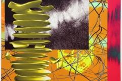 Moving Picture - Floatig Pillar Digigrafikk (50x62 cm) kr 5000 ur