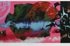Waiting Room - Pink Digigrafikk (24x60 cm) kr 4500 ur