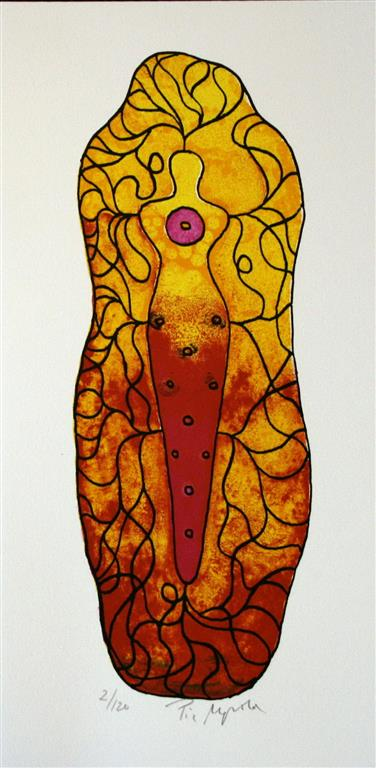 Buddha Litografi (27x11 cm) kr 1600 ur
