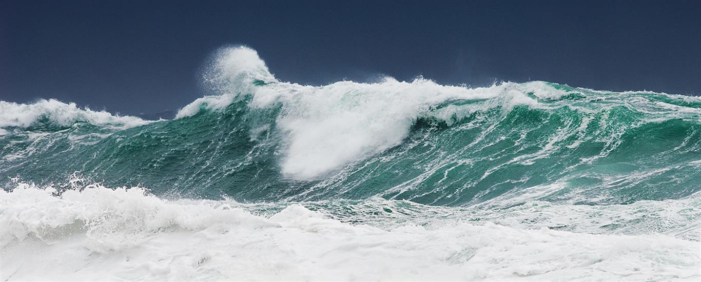 Stor sjø på Lista Digitalprint på lerret (50x130 cm) kr 5900 ur