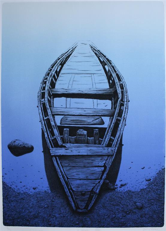 X - Voyage Litografi (70x50 cm) kr 4000 ur