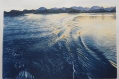 Farvann Litografi (50x69 cm) kr 4200 ur
