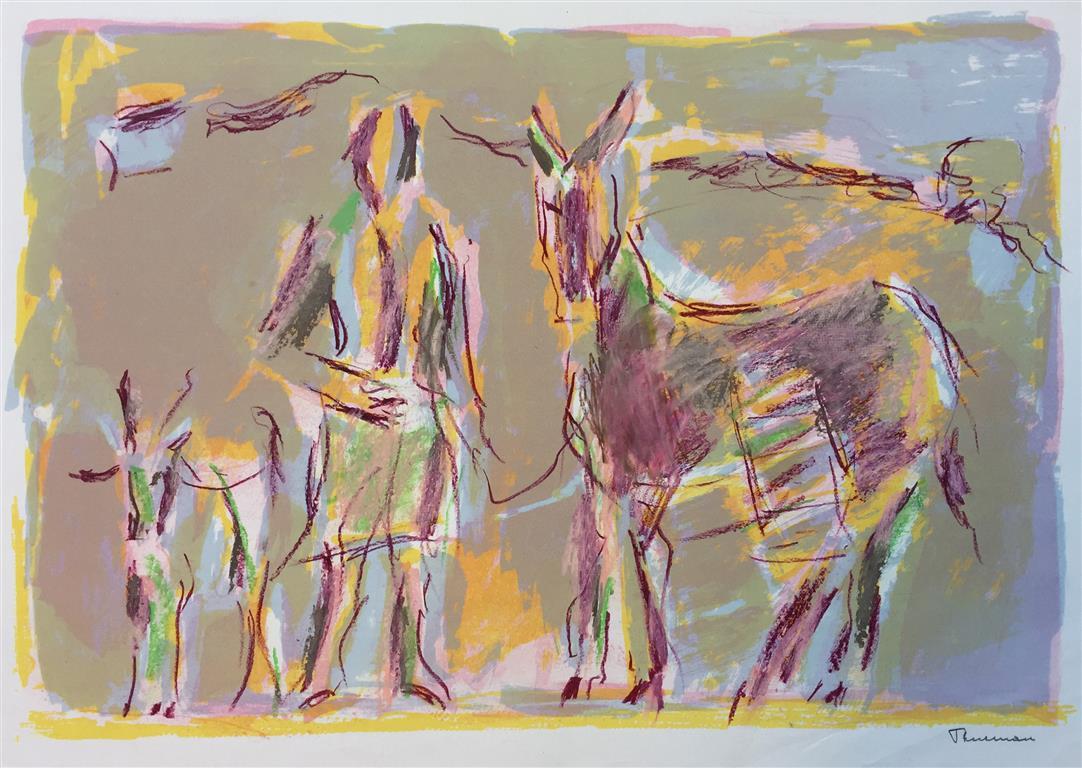 Husdyr III Litografi (38x56 cm) kr 2400 ur