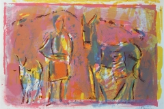 Husdyr II Litografi (40x57 cm) kr 2400 ur