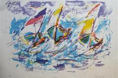 Surf Litografi (50x70 cm) kr 2400 ur