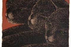 Tre Litografi 25x16,5 cm 1600 ur