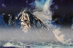 For ein vaat vinter Litografi 51x34 cm 5000 ur