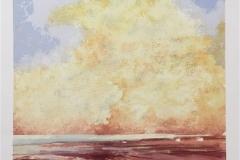 Gylden horisont Litografi (65x45 cm) kr 4300 ur
