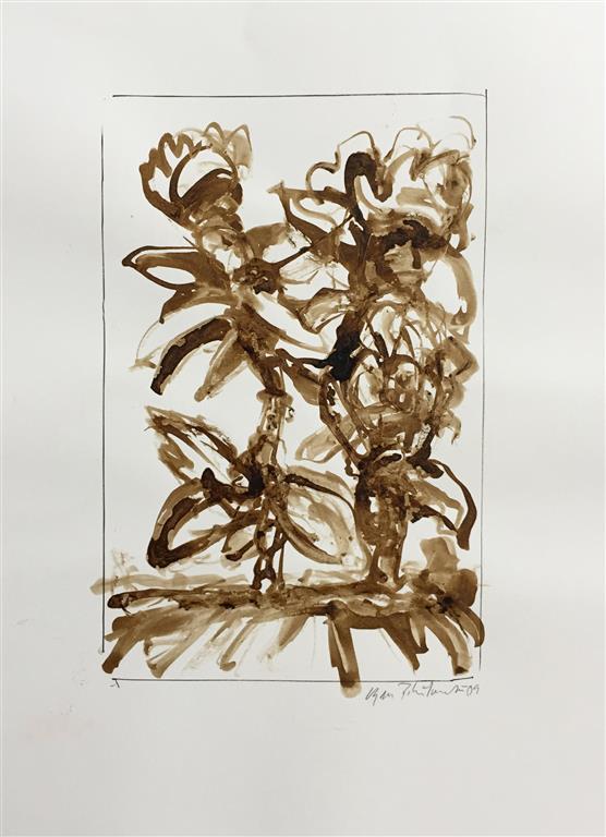 Herbarium III Akvarell (22x15 cm) kr 1000 ur