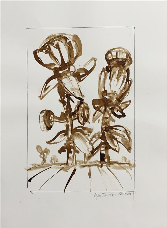 Herbarium IV Akvarell (22x15 cm) kr 1000 ur