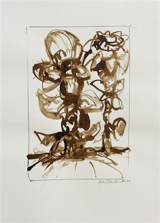 Herbarium V Akvarell (22x15 cm) kr 1000 ur