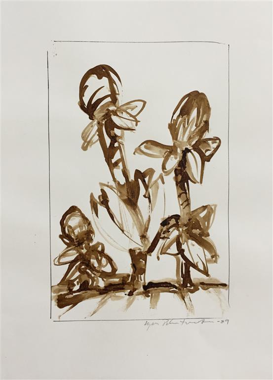 Herbarium VI Akvarell (22x15 cm) kr 1000 ur