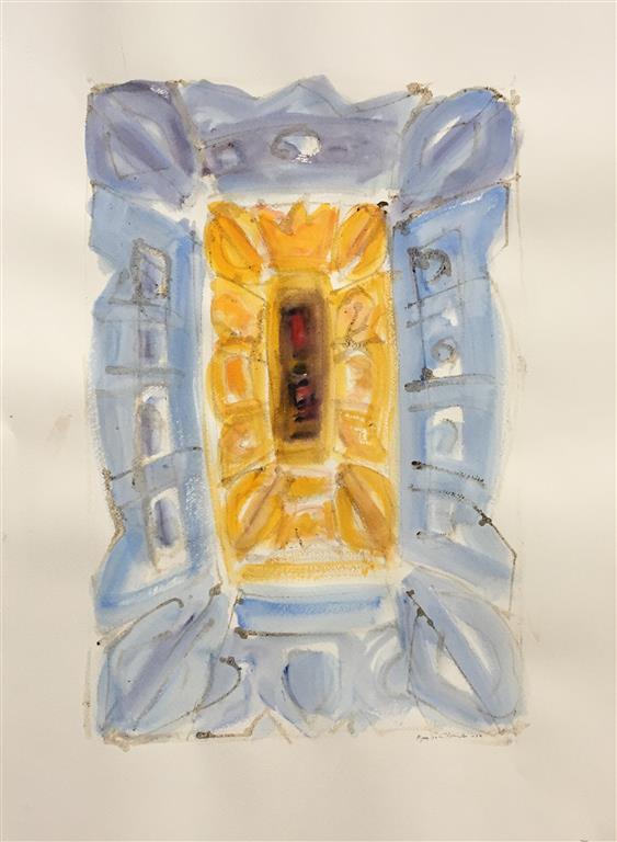 Ikon II Akvarell (59x38 cm) kr 7500 ur