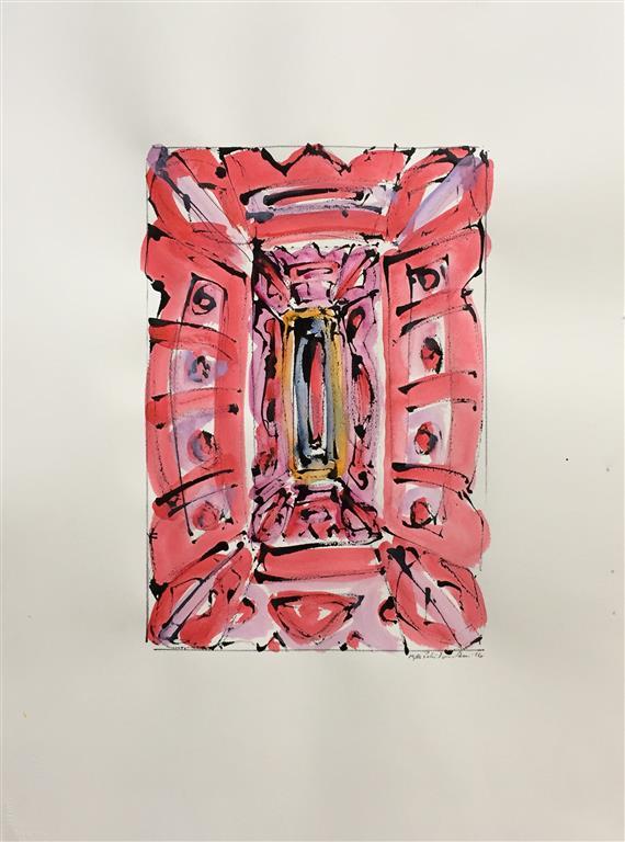 Ikon V Akvarell (46x30 cm) kr 6000 ur