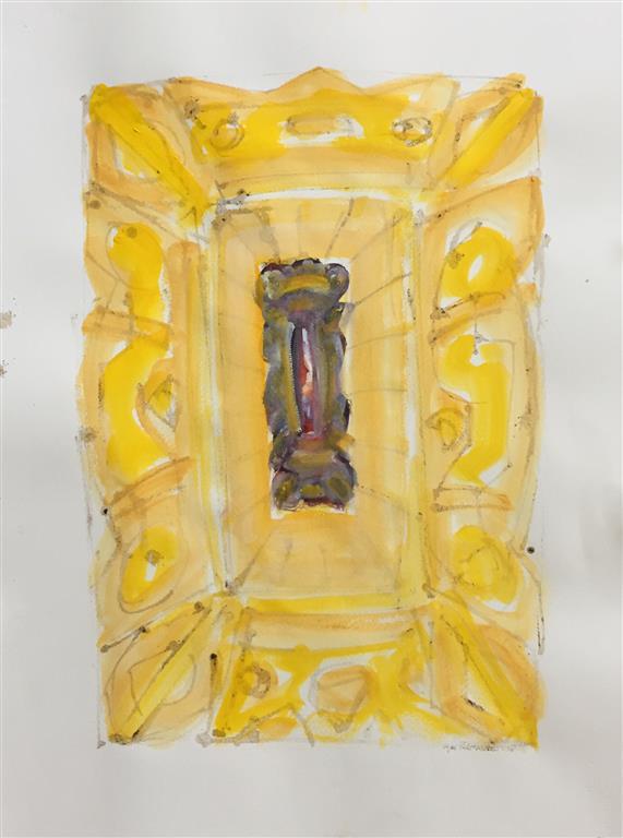 Ikon VI Akvarell (60x41 cm) kr 7500 ur