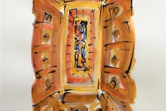 Ikon VII Akvarell (46x31 cm) kr 6000 ur