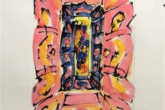 Ikon VIII Akvarell (46x31 cm) kr 6000 ur