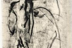 Komposisjon Tusjlavering (66x45 cm) kr 3000 ur