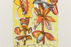 Blomster I Litografi (20x15 cm) kr 1500 ur