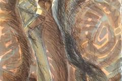 Kyss Litografi (71x52 cm) kr 4500 ur