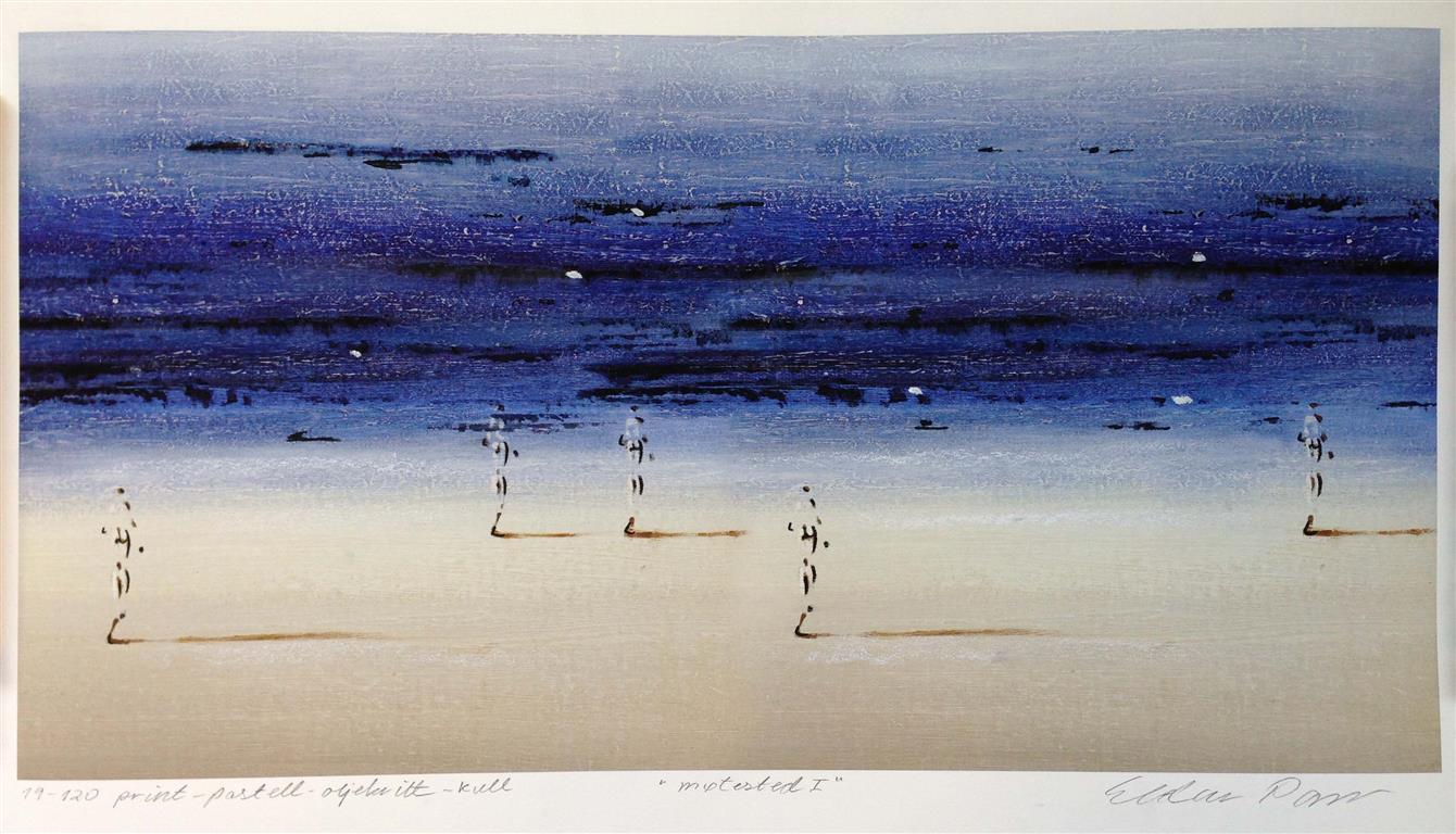 Møtested I Print, pastell, oljekritt, kull (39x74 cm) kr 3800 ur